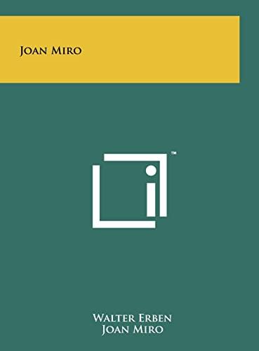 9781258029326: Joan Miro