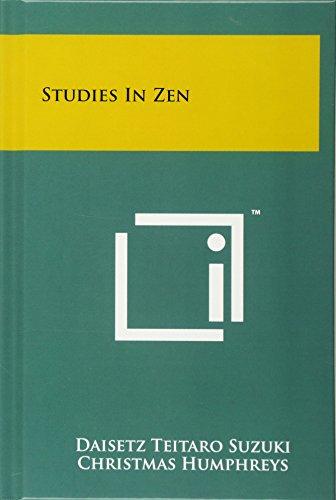 9781258042301: Studies in Zen