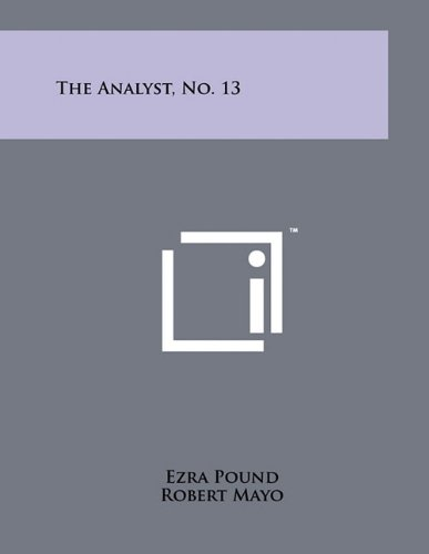 9781258049454: The Analyst, No. 13