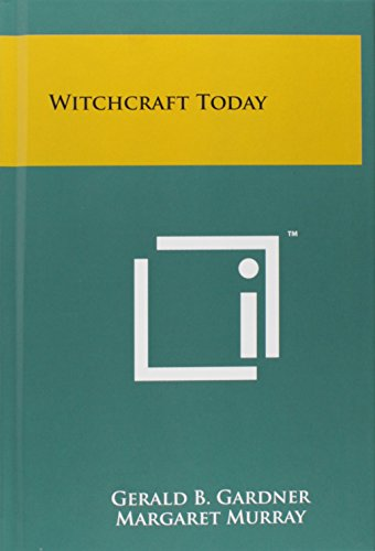 9781258068189: Witchcraft Today