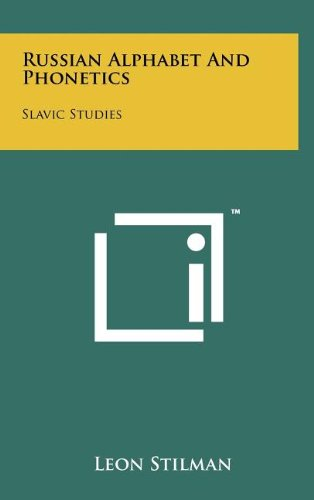 9781258078416: Russian Alphabet And Phonetics: Slavic Studies