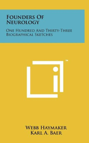 9781258080679: Founders Of Neurology: One Hundred And Thirty-Three Biographical Sketches
