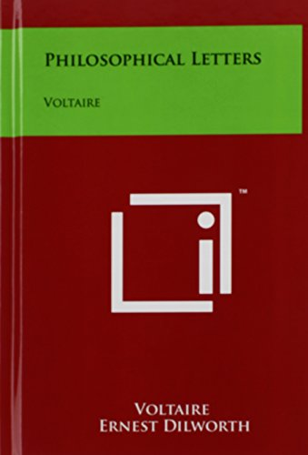 9781258081973: Philosophical Letters: Voltaire