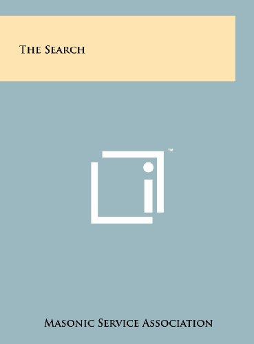 The Search (1258105829) by Masonic Service Association