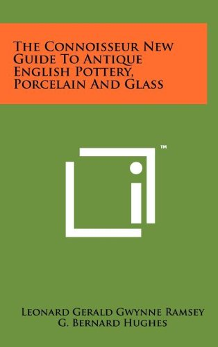 9781258107642: The Connoisseur New Guide to Antique English Pottery, Porcelain and Glass