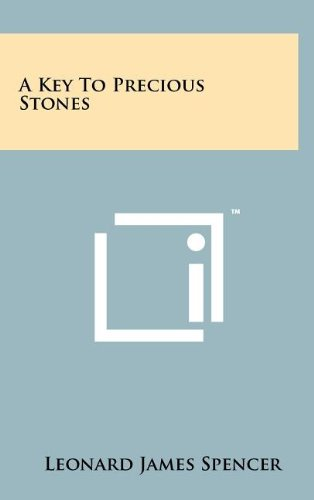 9781258108427: A Key To Precious Stones