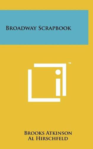 9781258108687: Broadway Scrapbook
