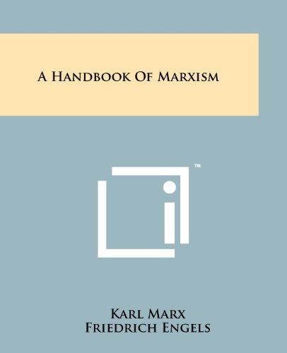 9781258111519: A Handbook Of Marxism
