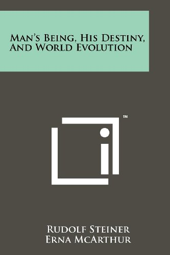 9781258113322: Man's Being, His Destiny, And World Evolution