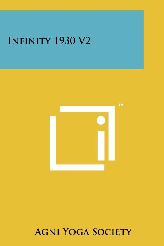 9781258116781: Infinity 1930 V2