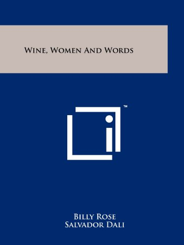 9781258123246: Wine, Women And Words