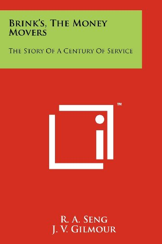 9781258123291: Brink's, the Money Movers: The Story of a Century of Service