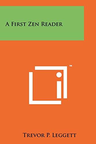 9781258124830: A First Zen Reader