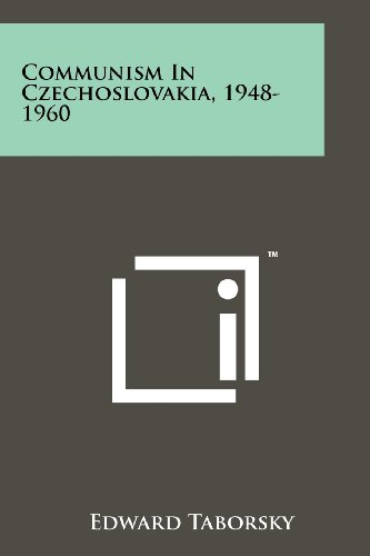 9781258126919: Communism In Czechoslovakia, 1948-1960