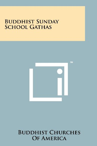 9781258128173: Buddhist Sunday School Gathas