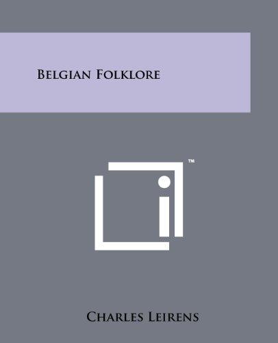 9781258128210: Belgian Folklore
