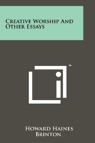 9781258129347: Creative Worship and Other Essays