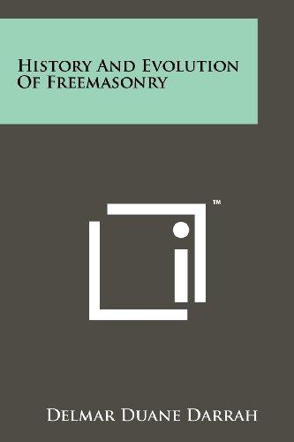 9781258131456: History and Evolution of Freemasonry