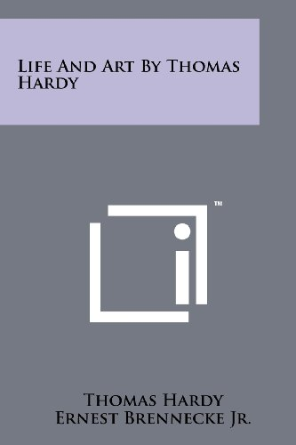 Life and Art by Thomas Hardy: Hardy, Thomas