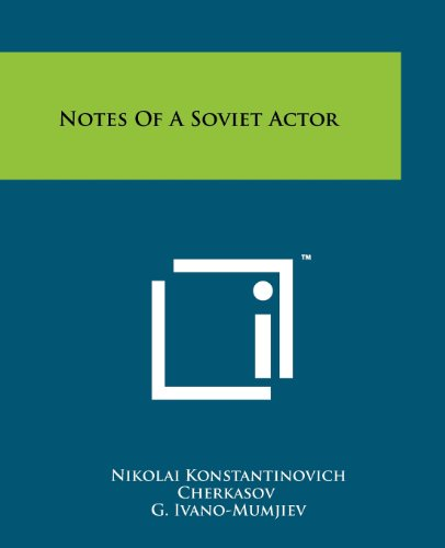 9781258135119: Notes of a Soviet Actor