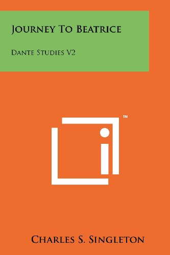 9781258135362: Journey to Beatrice: Dante Studies V2