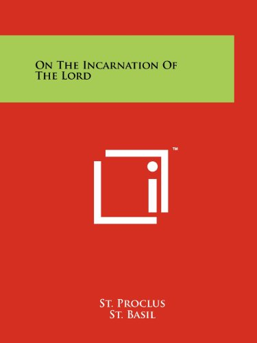 9781258136574: On The Incarnation Of The Lord