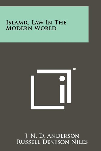 9781258138080: Islamic Law In The Modern World