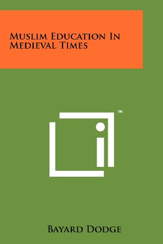 9781258138097: Muslim Education In Medieval Times