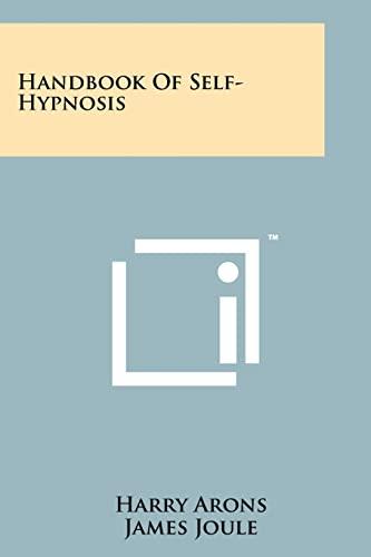 9781258138370: Handbook of Self-Hypnosis