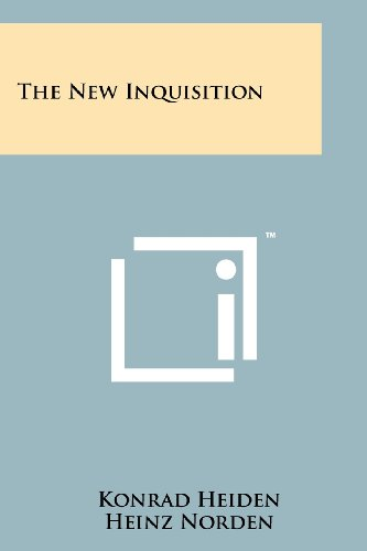The New Inquisition (9781258152505) by Konrad Heiden