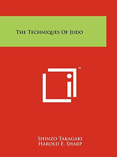 9781258156978: The Techniques Of Judo