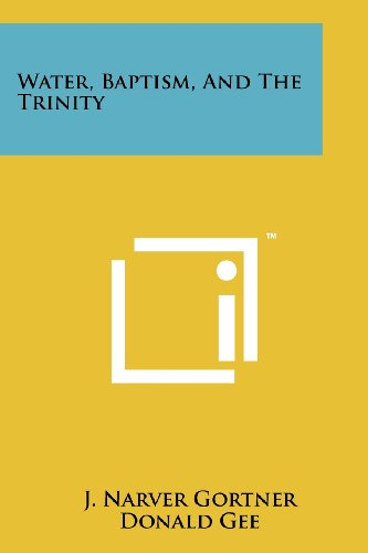 9781258160074: Water, Baptism, And The Trinity