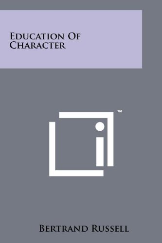 9781258166267: Education Of Character