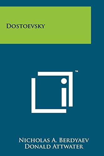 9781258167028: Dostoevsky