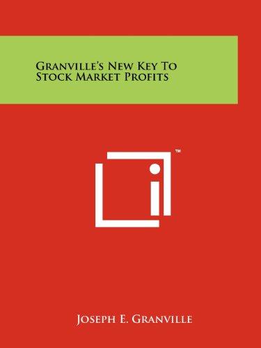 9781258167981: Granville's New Key To Stock Market Profits