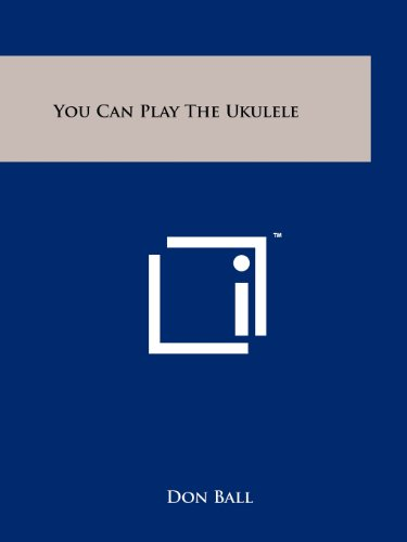 9781258169381: You Can Play The Ukulele