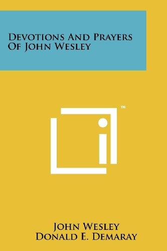 9781258170301: Devotions and Prayers of John Wesley
