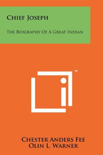 9781258178147: Chief Joseph: The Biography Of A Great Indian