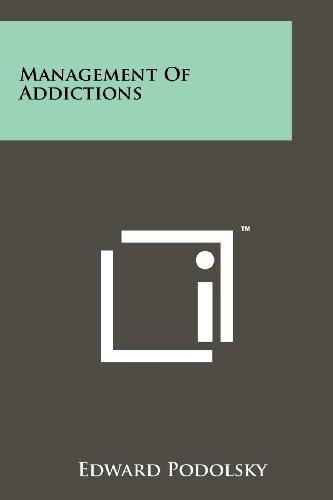 9781258178260: Management Of Addictions