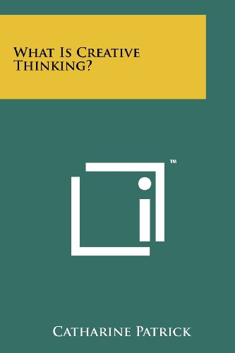 9781258181277: What Is Creative Thinking?