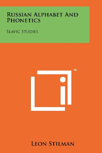 9781258183950: Russian Alphabet And Phonetics: Slavic Studies