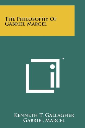 9781258190668: The Philosophy Of Gabriel Marcel