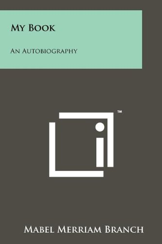 9781258197230: My Book: An Autobiography