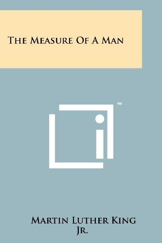 9781258203498: The Measure Of A Man