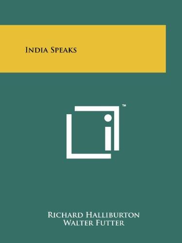 India Speaks: Halliburton, Richard