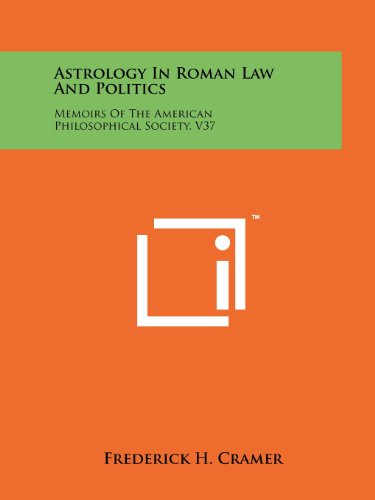 9781258210403: Astrology In Roman Law And Politics