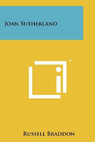 9781258213671: Joan Sutherland