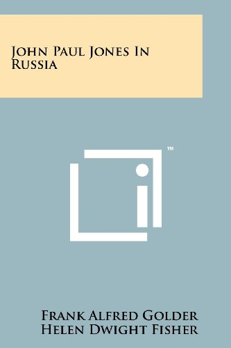 9781258213695: John Paul Jones in Russia
