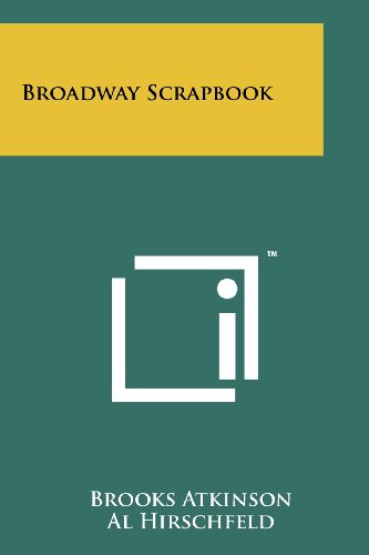 9781258214333: Broadway Scrapbook