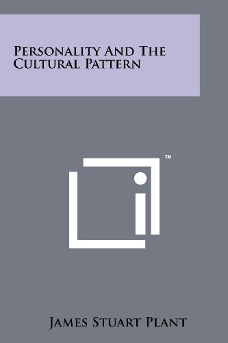 9781258214999: Personality And The Cultural Pattern